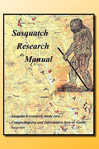 9781462897124: Sasquatch Research Manual