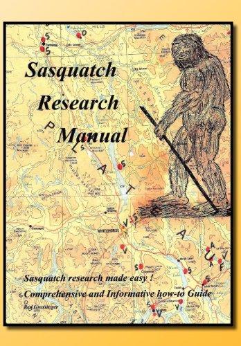 9781462897131: Sasquatch Research Manual