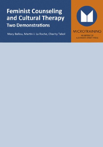 9781463113087: Feminist Counseling & Cultural Therapy: Two Demonstrations - Educational Version with Public Performance Rights