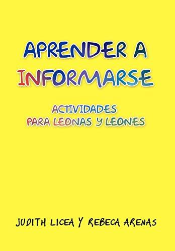 9781463345129: Aprender a Informarse: Actividades Para Leonas y Leones