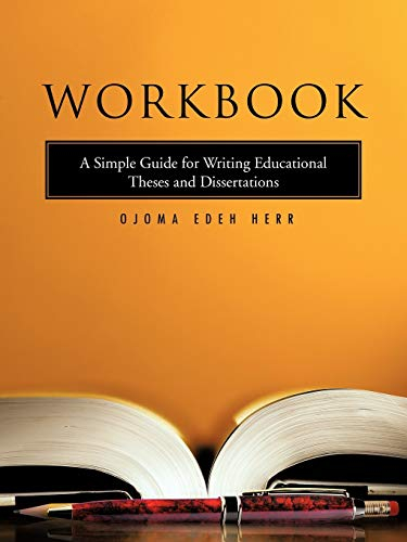 thesis about workbook This workbook is designed to help you prepare for your paper conference it will guide you through the process of brainstorming and collecting evidence, with the goal.