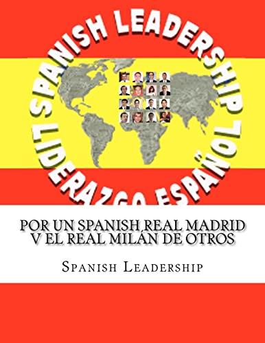 9781463524630: Por Un Spanish Real Madrid V El Real Milán de Otros