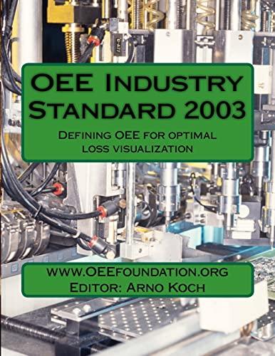 9781463550042: OEE Industry Standard v2003: Defining OEE for Optimal Loss Visualization