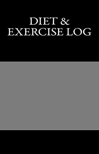 9781463643232: Diet & Exercise Log
