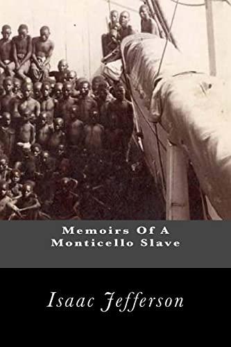 9781463650537: Memoirs Of A Monticello Slave