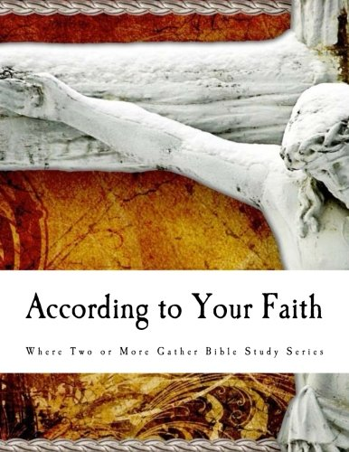 9781463663582: According to Your Faith: Bible Study