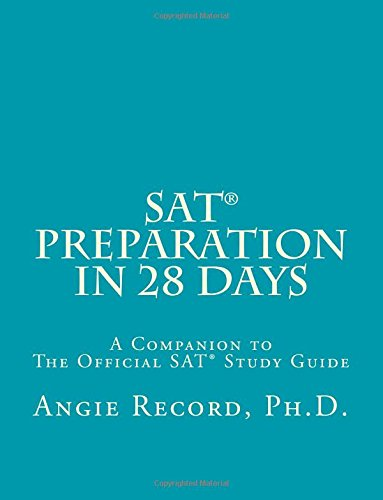 9781463664053: SAT Preparation in 28 Days: A Companion to The Official SAT Study Guide