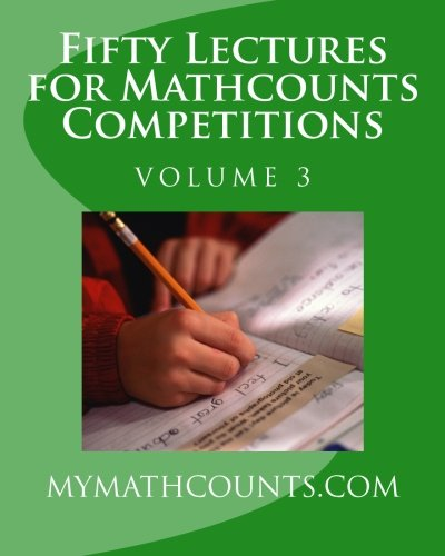 Fifty Lectures for Mathcounts Competitions (3): Chen, Jane; Chen, Yongcheng