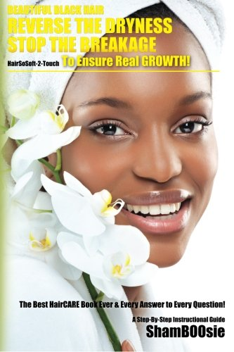 9781463722241: Beautiful Black Hair: Reverse the DRYNESS Stop the BREAKAGE