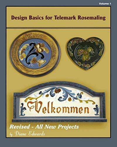 9781463734756: Design Basics for Telemark Rosemaling: Volume 1