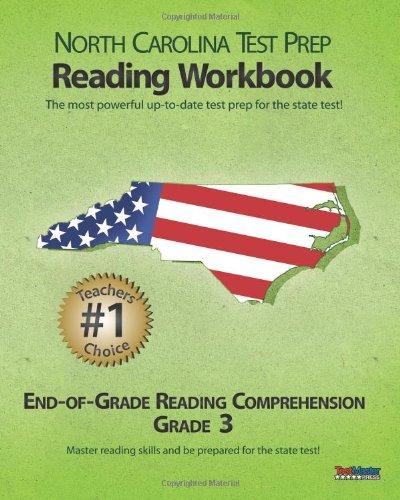 9781463739546: NORTH CAROLINA TEST PREP Reading Workbook End-of-Grade Reading Comprehension Grade 3