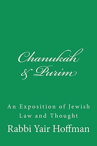Chanukah & Purim: R. Yair Hoffman