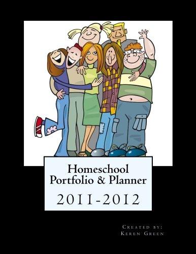 9781463767990: Homeschool Portfolio & Planner 2011-2012
