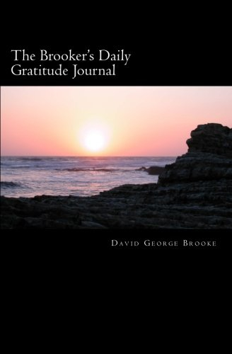 9781463787202: The Brooker's Daily Gratitude Journal
