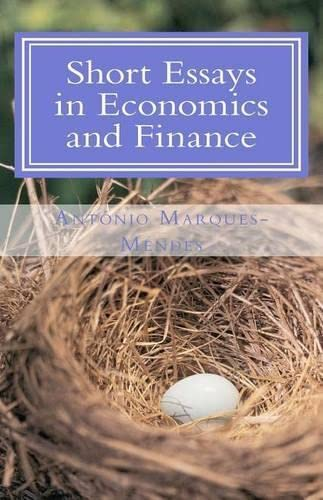 9781463793159: Short Essays in Economics and Finance