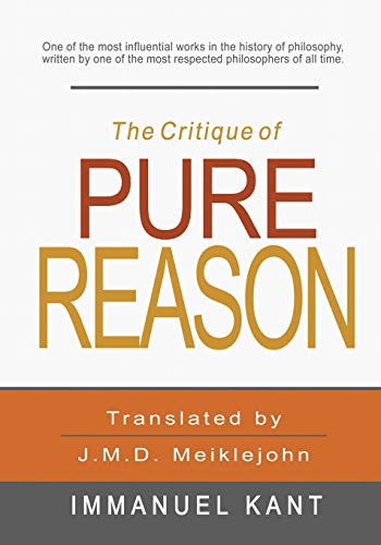 9781463794767: The Critique of Pure Reason
