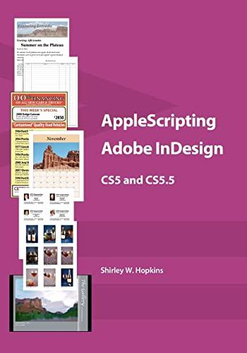 9781463797652: AppleScripting Adobe InDesign CS5 and CS5.5