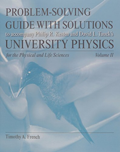 9781464100970: Problem Solving Guide for University Physics for the Physical and Life Sciences Volume 2