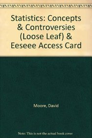 9781464101144: Statistics: Concepts & Controversies + Eeseee Access Card