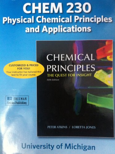 9781464101199: Chemical Principles: The Quest for Insight (Chem 230)