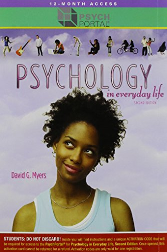 Psychology in Everyday Life (Loose Leaf), PSychPortal Access Card & Psychology & the Real ...