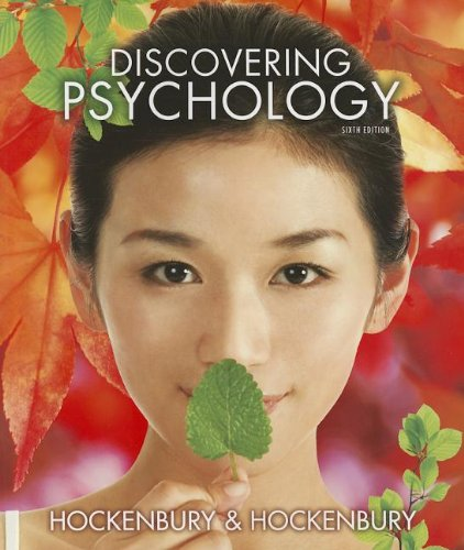 Discovering Psychology: Hockenbury, Don; Hockenbury, Sandra E.