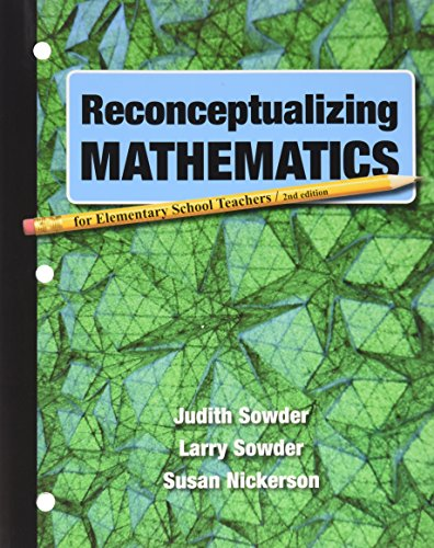 Reconceptualizing Mathematics: Judith Sowder; Larry