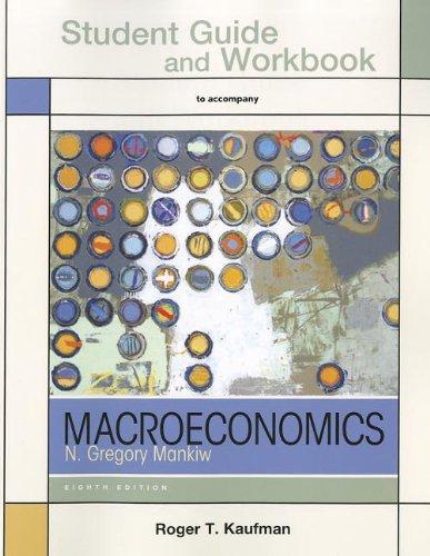 9781464104930: Study Guide for Macroeconomics