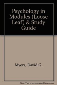 9781464106408: Psychology in Modules (Loose Leaf) & Study Guide