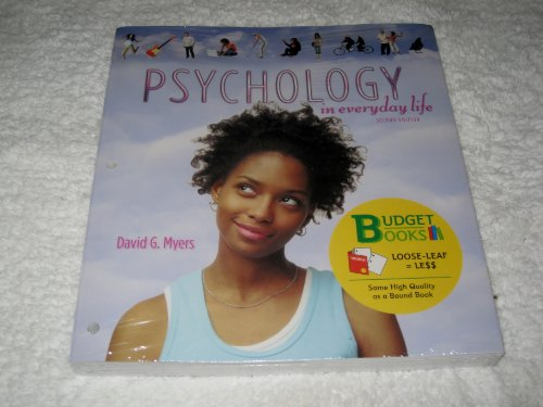 9781464106675: Psychology in Everyday Life (Loose Leaf) & PsychPortal Access Card (Budget Books)