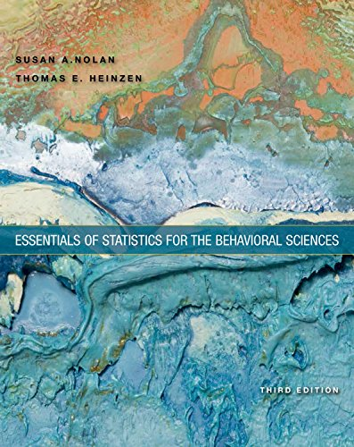 9781464107771: Essentials of Statistics for the Behavioral Sciences