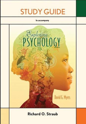 9781464108365: Study Guide for Exploring Psychology
