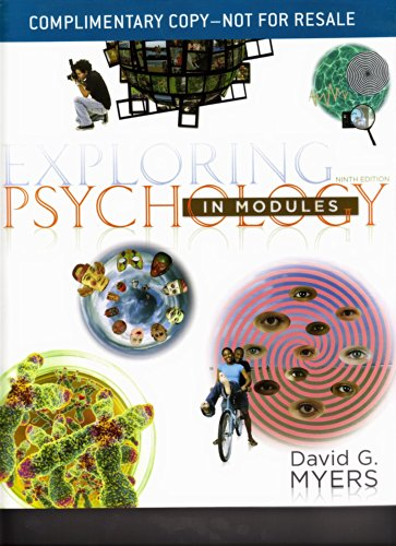 9781464108426: Exploring Psychology in Modules: 9th Edition
