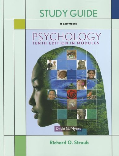 9781464108464: Psychology in Modules Study Guide