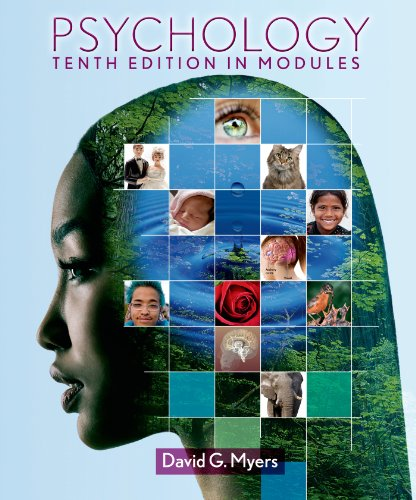 Psychology in Modules (High School) 9781464108501 This modules-based version of Myers' Psychology tenth edition breaks down the book's 16 chapters into 54 short modules. The condensed te