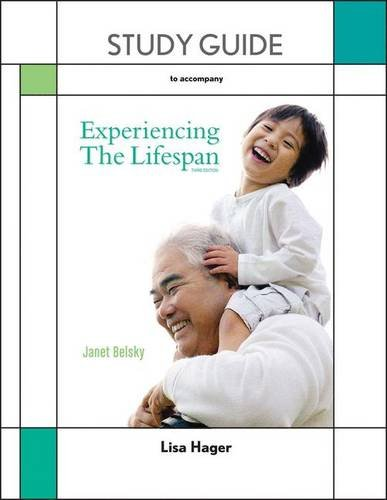 9781464108518: Study Guide for Experiencing the Lifespan
