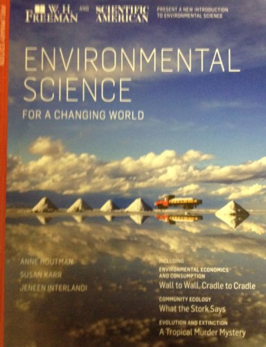9781464109232: Environmental Science for a Changing World. Preliminary Edition