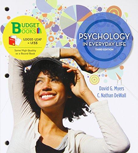 Psychology in Everyday Life: Myers, David G.