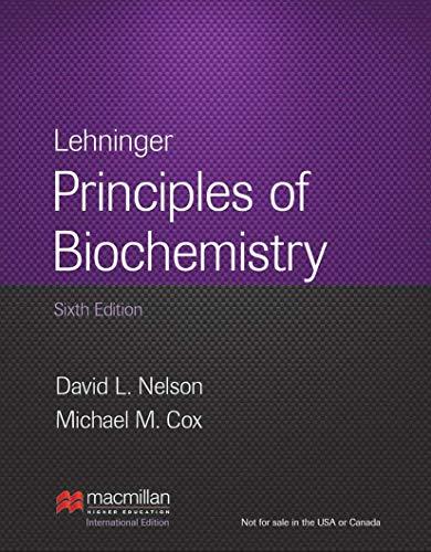9781464109621: Lehninger Principles of Biochemistry: 6th Edition