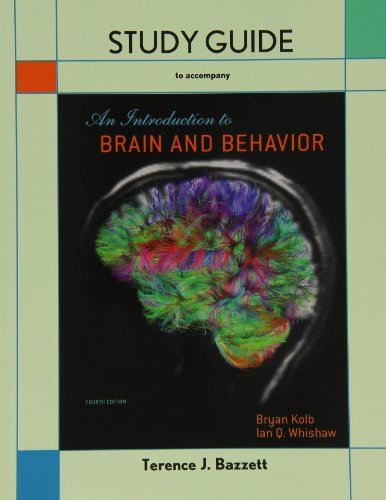 9781464109904: Study Guide for Introduction to Brain and Behavior