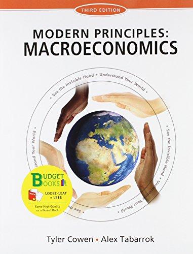 9781464110245: Loose-leaf Version for Modern Principles of Macroeconomics