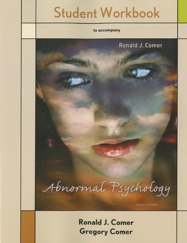 9781464110665: Student Workbook Abnormal Psychology