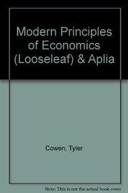 9781464111877: Modern Principles of Economics (Looseleaf) & Aplia