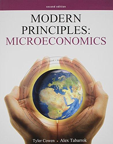 Modern Principles of Microeconomics & Study Guide: Tyler Cowen
