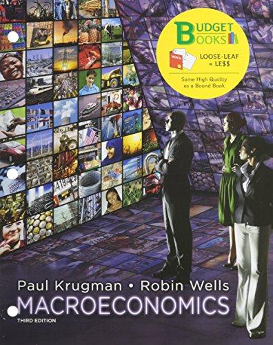 Macroeconomics (Looseleaf) & Portal Access Card: Paul Krugman