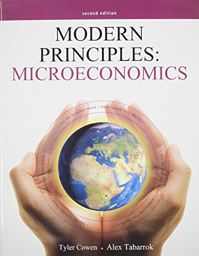 9781464113192: Modern Principles of Microeconomics & Aplia Access Card (1 Semester)