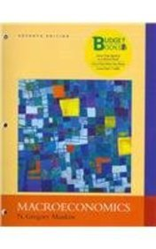 Macroeconomics (Looseleaf), EconPortal Access Card & Study Guide (Budget Books): Mankiw, N. ...