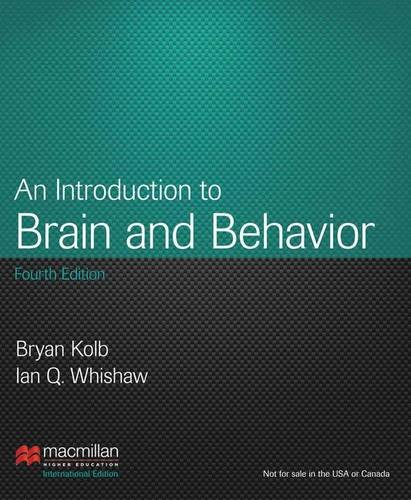 9781464118999: Introduction to Brain and Behavior