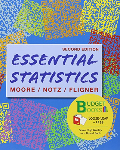 9781464119989: Essentials of Statistics (Loose Leaf) & Crunch It/EESEE Access Card
