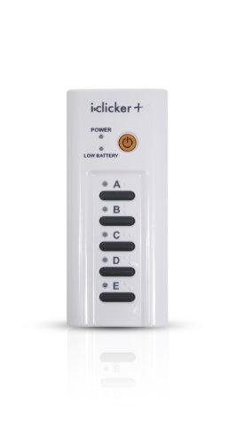 i>clicker+ student remote: iclicker